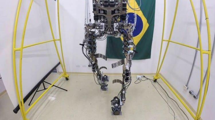 Mind controlled exoskeleton