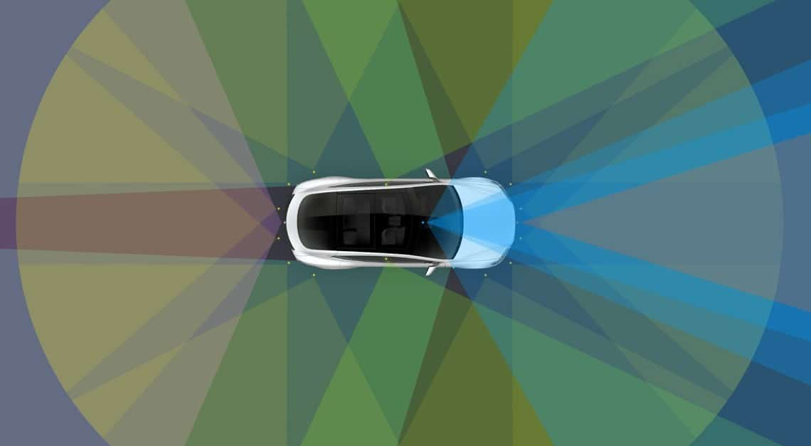 Tesla self driving