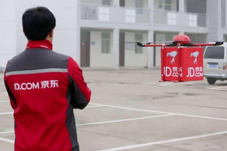 jd.com drones