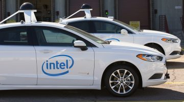 Intel driverless cars