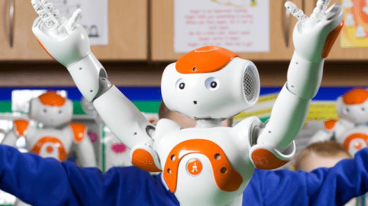 Steve autism robot