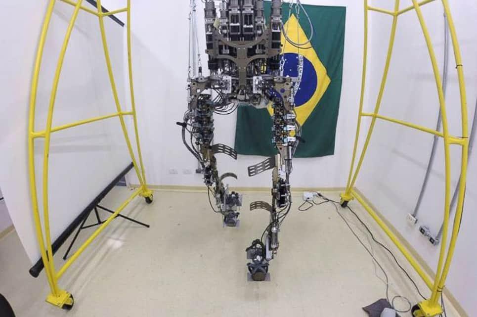 Mind controlled exoskeleton