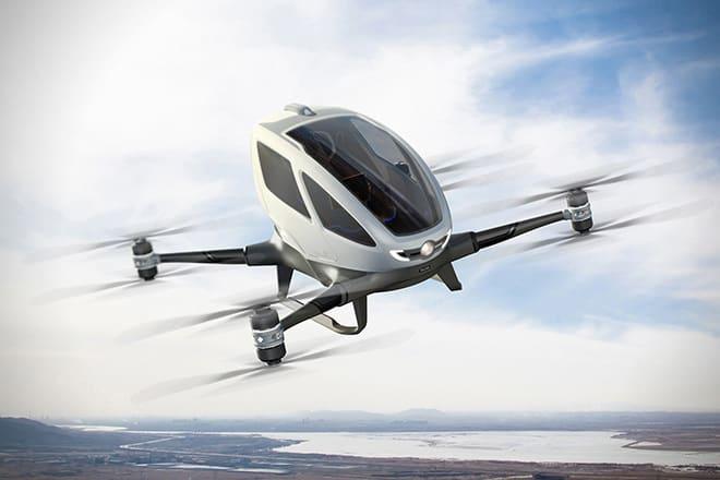 EHang taxi drone
