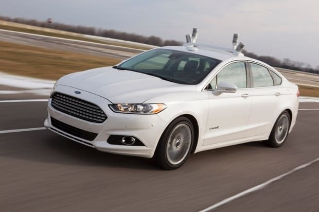 ford self driving car