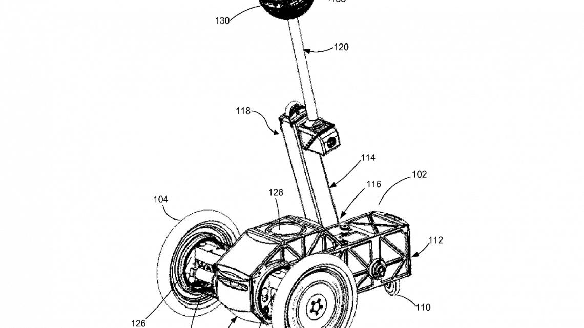 Facebook balancing robot