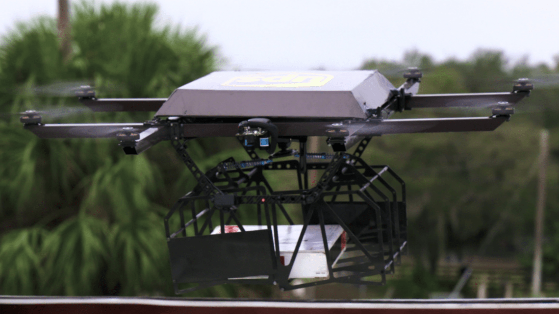 ups delivery drone