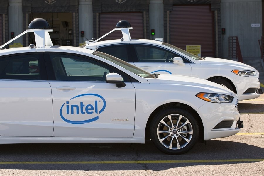Intel driverless cars