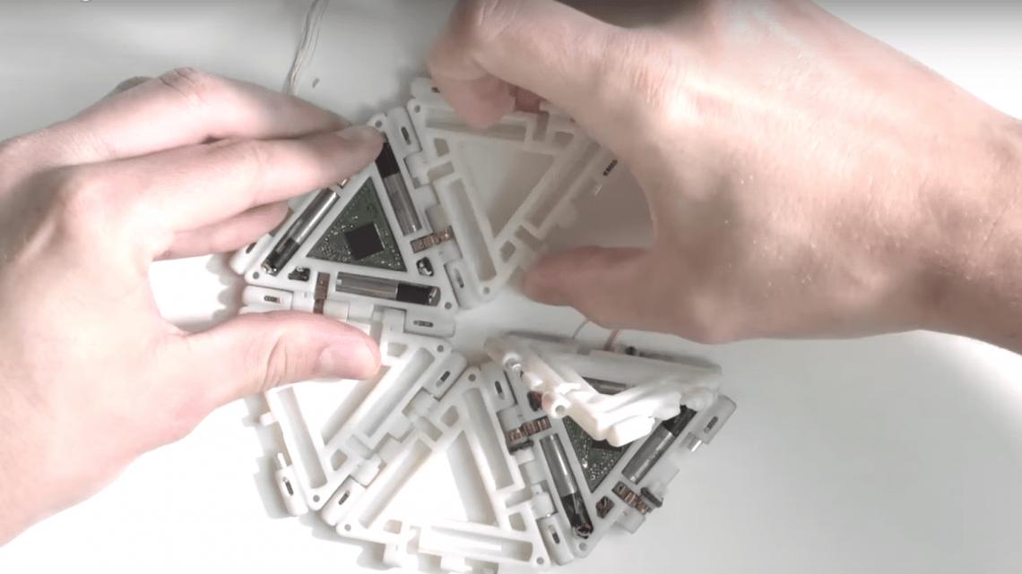 mori origami robot